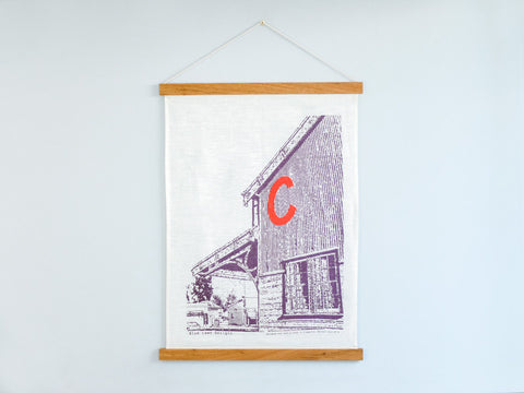 FRAME - Tea Towel by Corner Block Studio
