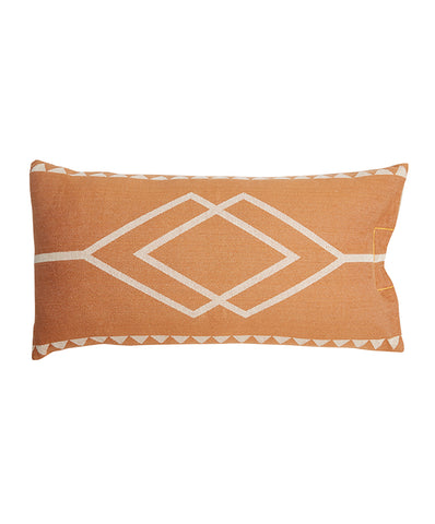 CUSHION | Dawn Ranger Tan/Oats rectangle design by pony rider
