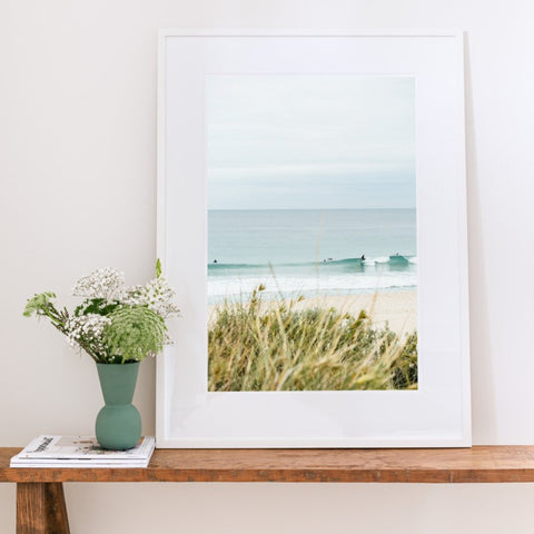 ART PRINT | Surf Triptych 1 by Denise Rix