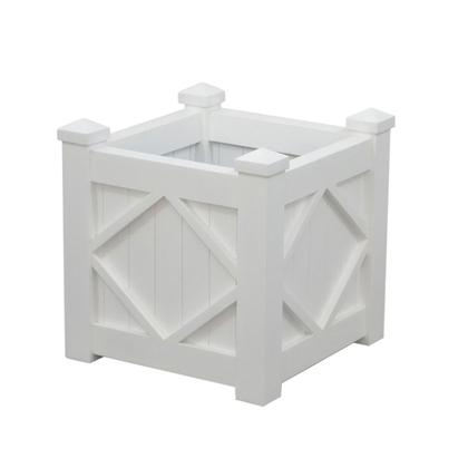 PLANTER BOX | Hamptons White by Henry & Oliver Co.