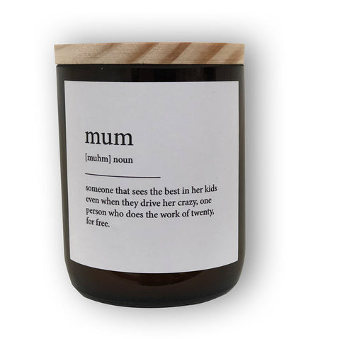 CANDLE | Mum by The Commonfolk