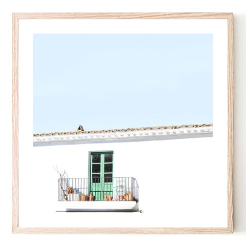 ART PRINT |  European Balcony by Blackhaus Studios