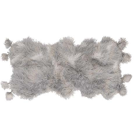 THROW | flufflebuster design in grey by Amigos de Hoy