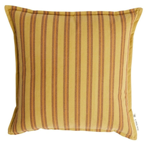 CUSHION | Safari Stripe Golden Tan design by pony rider