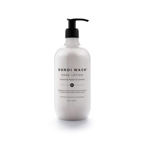 HAND LOTION | lilly pilly with tasmanian pepper + lavender by bondi wash
