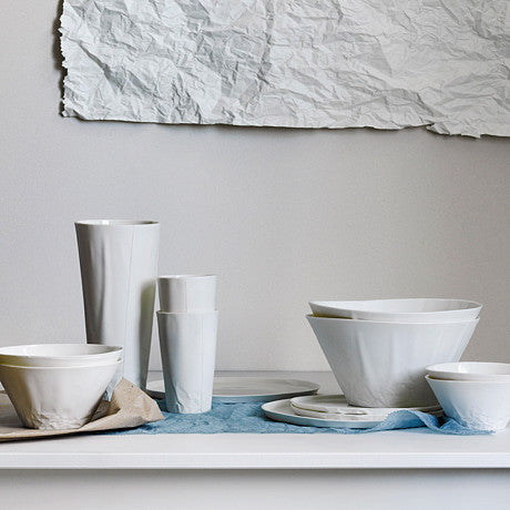 BOWL BY HAYDEN YOULLEY: white porcelain