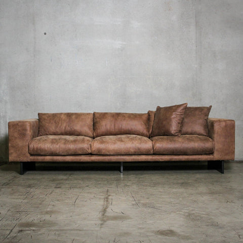 SOFA | Loft Caramel Leather design by ILC