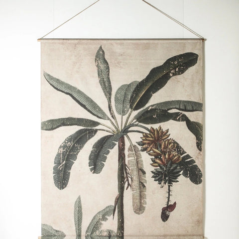 WALL CHART | Palm Scroll by Indigo Love Collectors