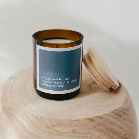 CANDLE | Good, Kind, Happy by The Commonfolk