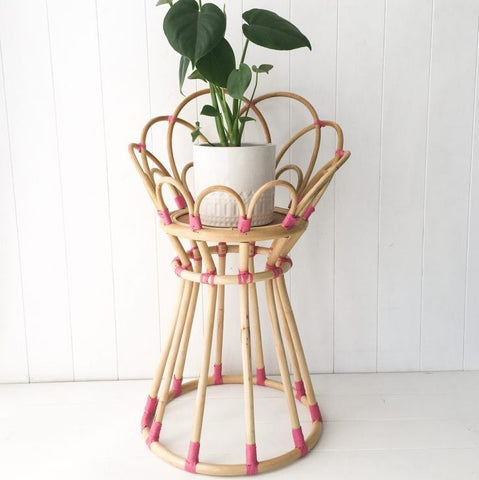 PLANT STAND | Poppy Pink by Collective Sol