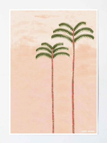 ART PRINT | Desert Palm by Karina Jambrak