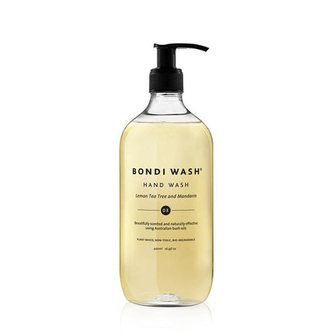 HAND WASH | lemon tea tree + mandarin