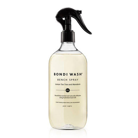 BENCH SPRAY | lemon tea tree + mandarin by bondi wash
