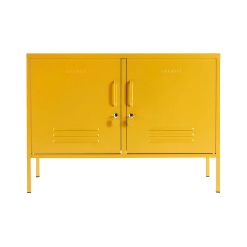 CONSOLE | The Lowdown in mustard by Mustard Made