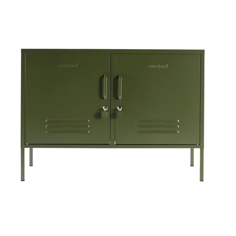 CONSOLE | The Lowdown in olive by Mustard Made