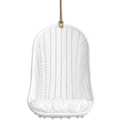 HANGING CHAIR | Makeba White by Uniqwa