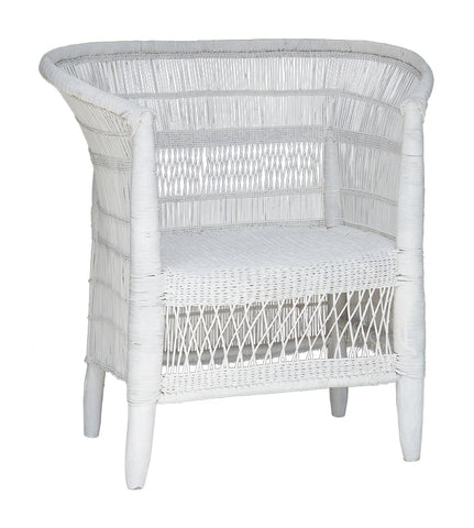DINING CHAIR | malawi design in white by Uniqwa