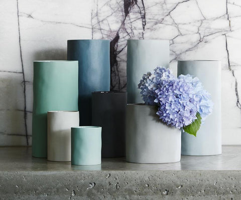 VASE | Cloud L in light blue by marmoset found