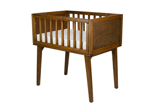 BASSINET | Maxwell Walnut by incy interiors