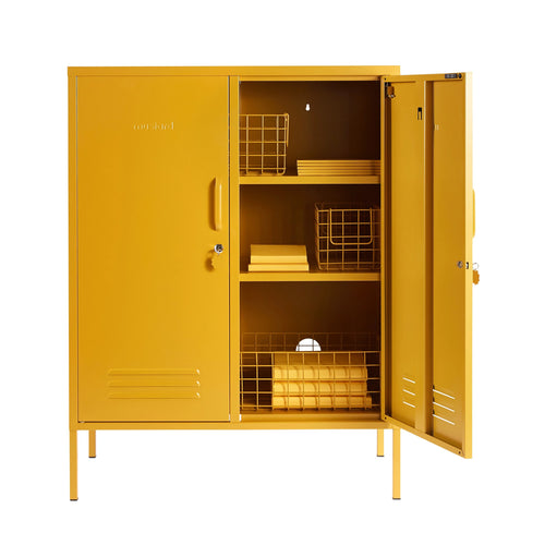 CABINET | The Midi in mustard by Mustard Made
