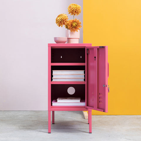 SIDE TABLE | BEDSIDE | shorty design in berry by mustard made