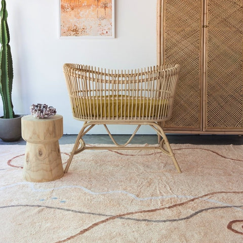 FLOOR RUG | Cotton Berber - Nomad Desert Peach by OHH