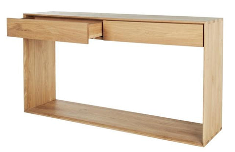 CONSOLE | nordic in oak by ethnicraft