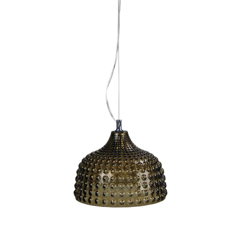 PENDANT | Cara Amber by Oriel Lighting