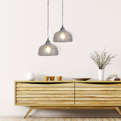 PENDANT | Cara Clear by Oriel Lighting