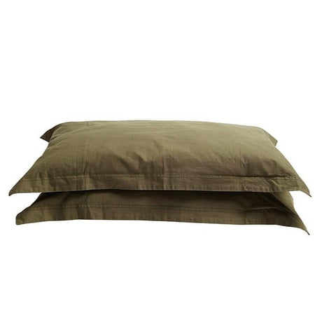 PILLOWCASE SET | Organic Canvas Khaki by Pony Rider