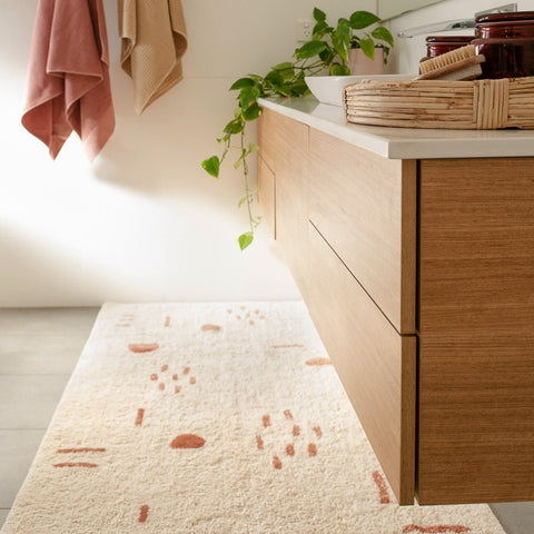 BATH MAT | Nomad Runner Natural by OHH
