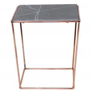 SIDE TABLE | Orlando Copper & Grey by MRD Home
