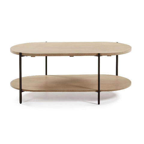 COFFEE TABLE | Palmia Oval by Cranmore Home & Co