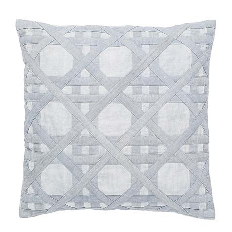 CUSHION | panama design in blue fog by Amigos de Hoy
