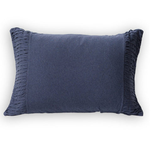 PILLOW CASE | indigo marle organic cotton by lazybones