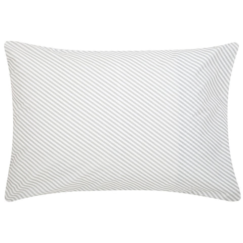 PILLOWCASE | grey stripe by castle + things