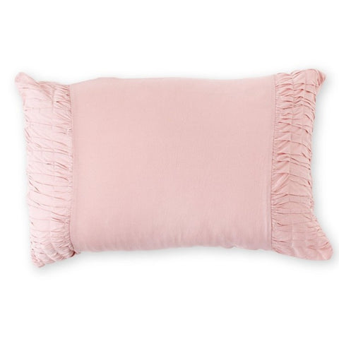 PILLOW CASE | tuscan pink organic cotton by lazybones