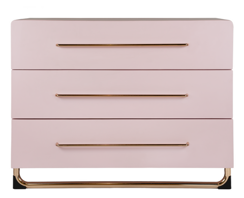 CHANGE TABLE | Blush Pink design by incy interiors