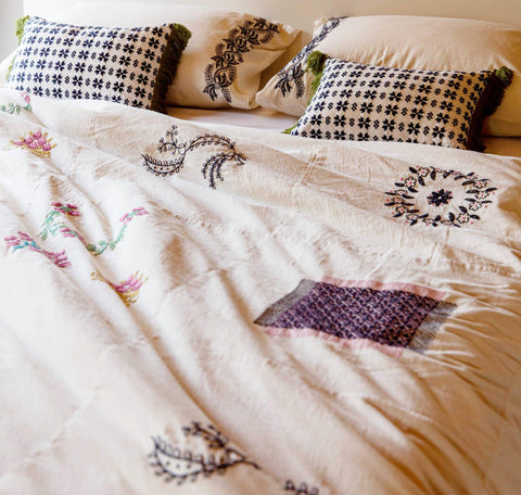 DUVET COVER | sampler design by lazybones