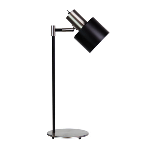 TABLE LAMP | Ari Chrome Black by Oriel Lighting