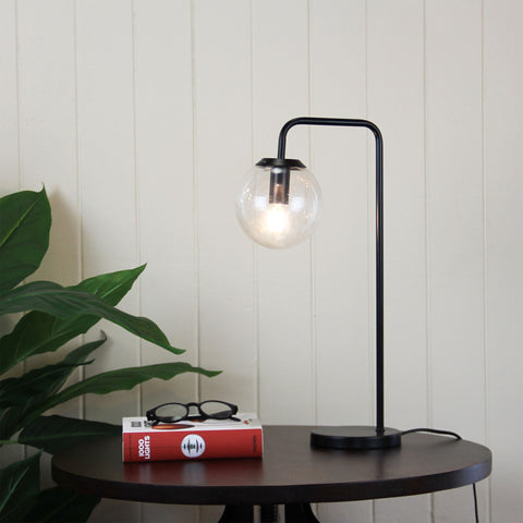 TABLE LAMP | Newton Black by Oriel Lighting