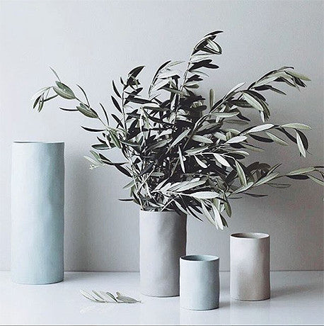 VASE | cloud XL  in dove grey by marmoset found