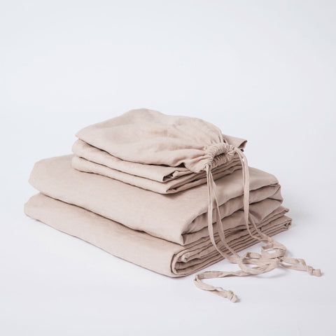 SHEET SET | nude linen by cultiver