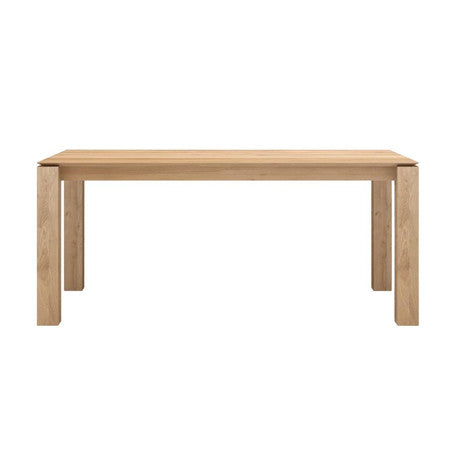 DINING TABLE | slice extension in oak by ethnicraft