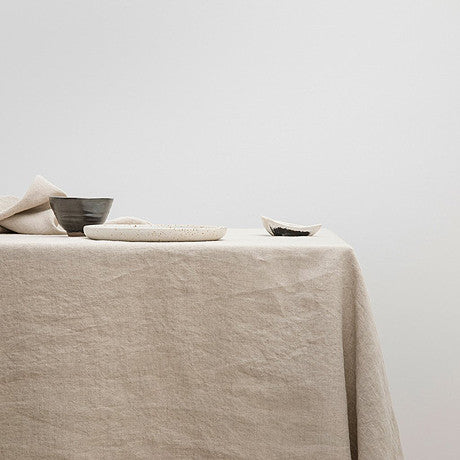 TABLE CLOTH | natural linen by Cultiver