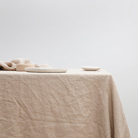 TABLE CLOTH | nude linen by Cultiver
