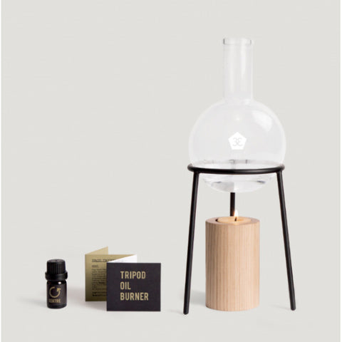 OIL BURNER |  tripod design by page thirty three
