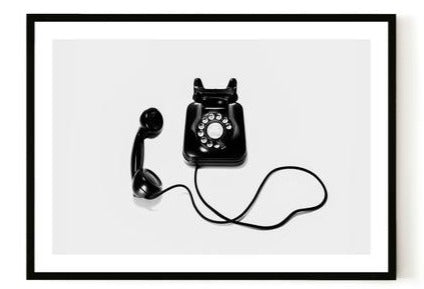 ART PRINT |  Telephone by Blackhaus Studios