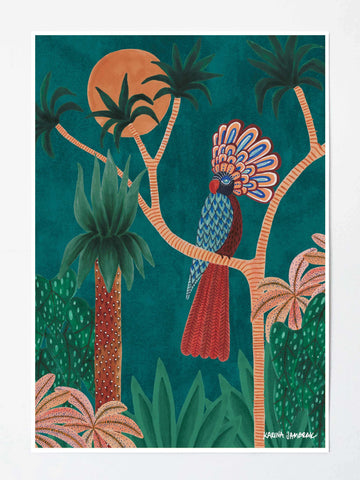 ART PRINT | The Eye of The Jungle by Karina Jambrak