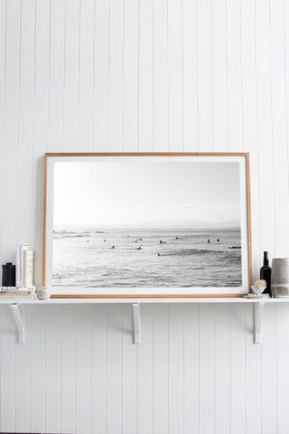 ART | Photographic Print The Pass Byron Bay by Kara Rosenlund